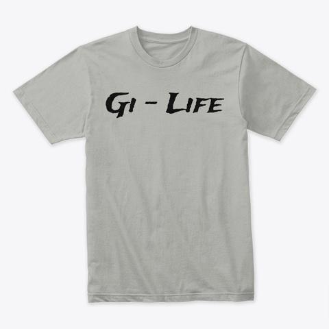 Gi Life: Trade Winds Light Grey T-Shirt Front