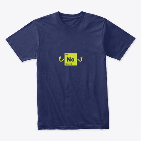 No 🔬 #Sfsf Midnight Navy T-Shirt Front
