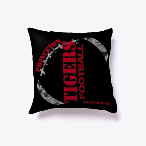 Princeton Tigers Dark Pillow Black T-Shirt Back