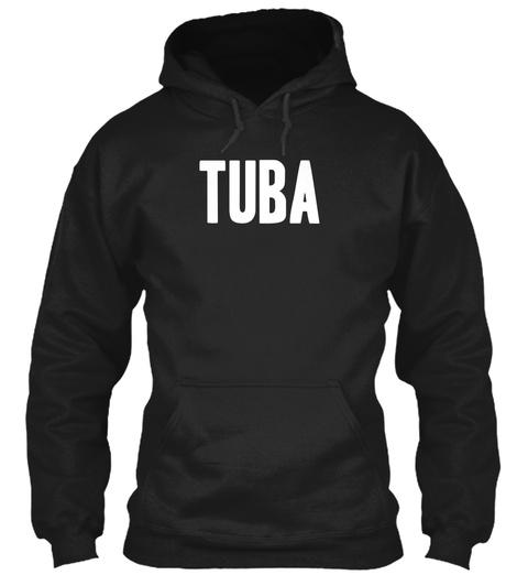Tuba Black Sweatshirt Front