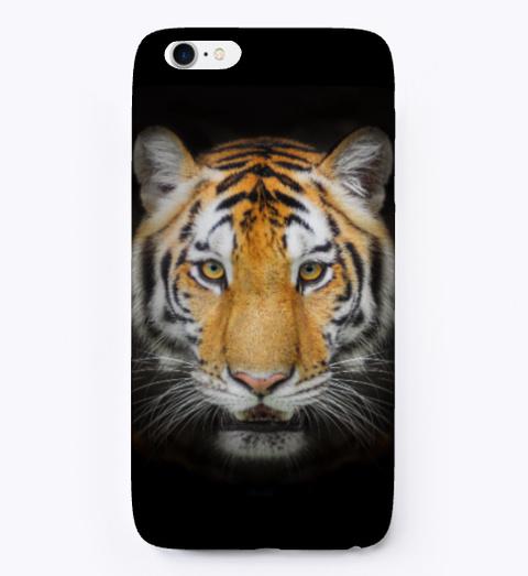 Tiger I Phone Case Black T-Shirt Front