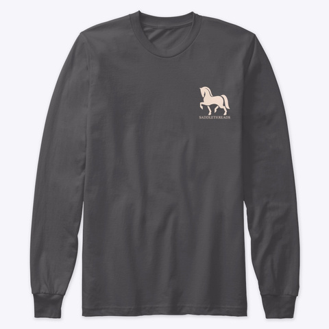 Fall Collection   Horses & Coffee Heavy Metal T-Shirt Front