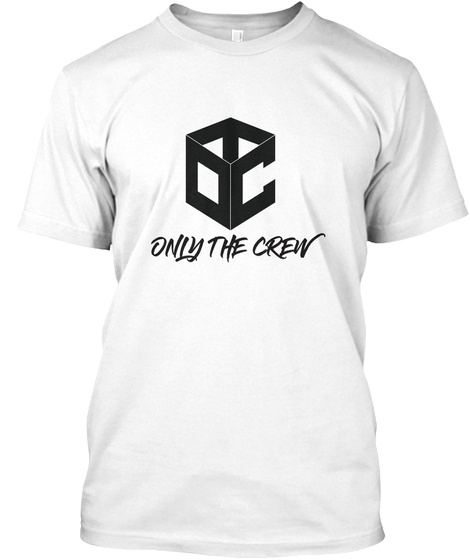 Only The Crew White T-Shirt Front