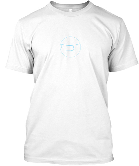 Moisten Your Style White T-Shirt Front