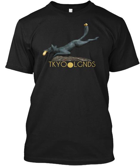 Tkyo●Lgnds Black T-Shirt Front