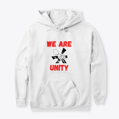 We Are Unity White T-Shirt Front