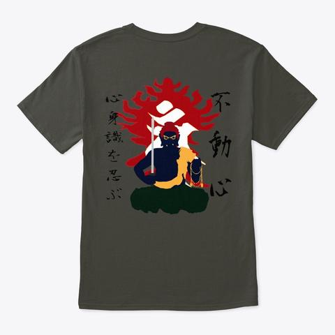 Fudo Shin Smoke Gray T-Shirt Back