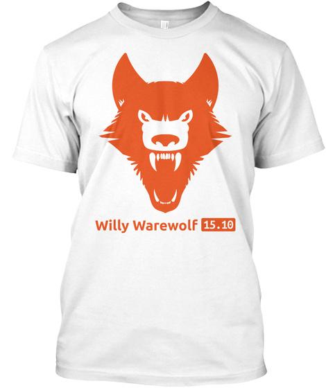 Willy Warewolf 15.10 White T-Shirt Front