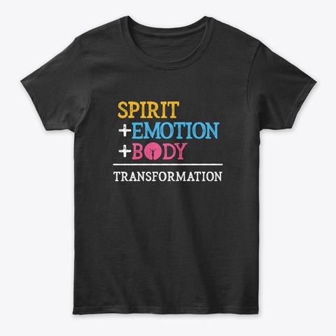 Transformation Formula Black T-Shirt Front