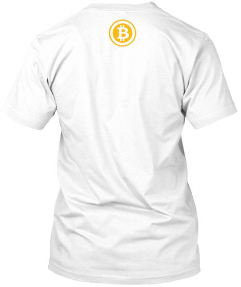 B White T-Shirt Back