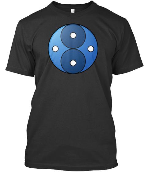 (Eu) Mental Mars Logo Black T-Shirt Front