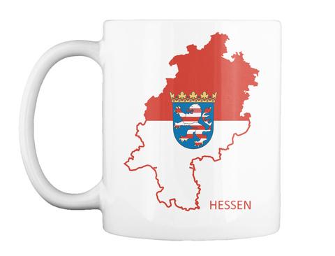 Hessen White T-Shirt Front