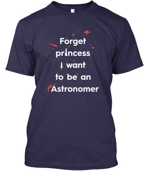 Forget Princess 2 [Int] #Sfsf Navy T-Shirt Front