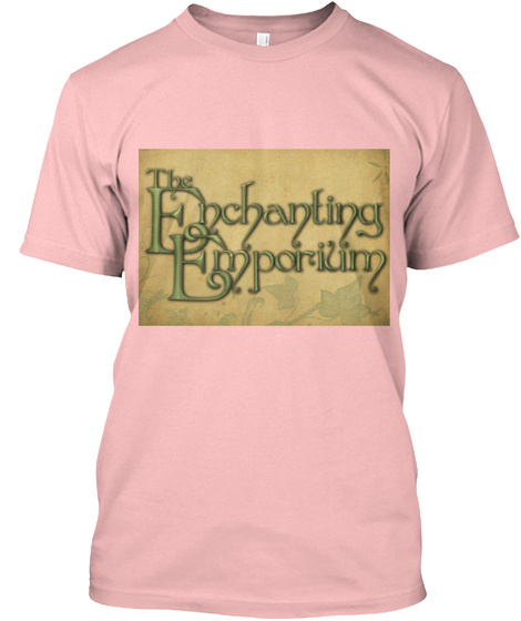 This T Shirt Is Acceptable And Durable. Pale Pink T-Shirt Front