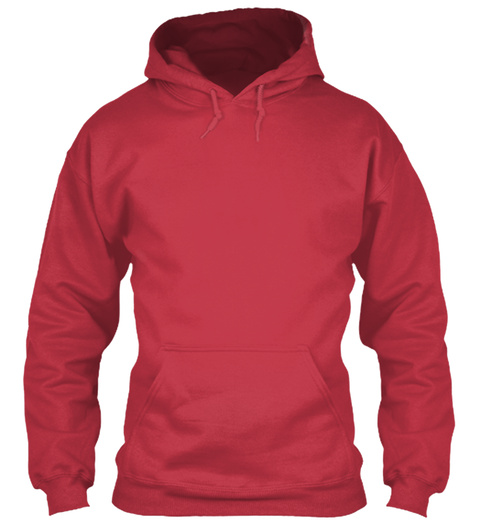 Cancer Hoodie Cardinal Red T-Shirt Front