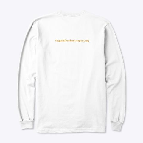 I Call The Shots White T-Shirt Back