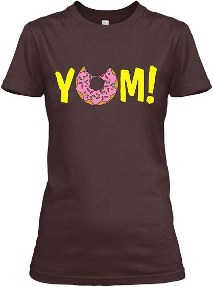 Yum! Dark Chocolate  Women's T-Shirt Front