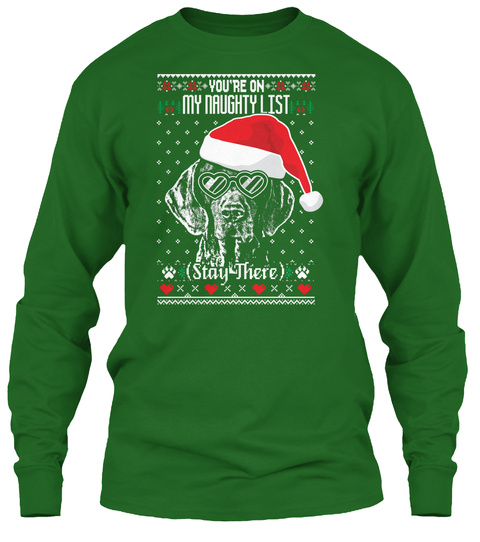 Gsp Shirt   Naughty List Irish Green T-Shirt Front