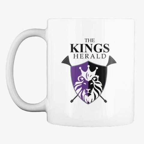 The Kings Herald Coffee Mug White T-Shirt Front