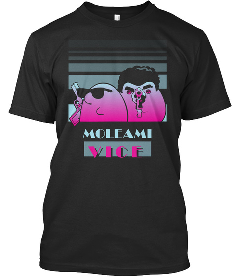 Moleami Vice Black T-Shirt Front