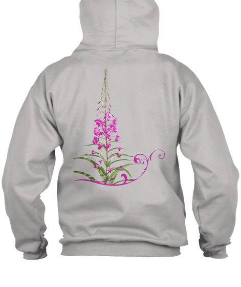 Rt Ak  Light Steel Sweatshirt Back