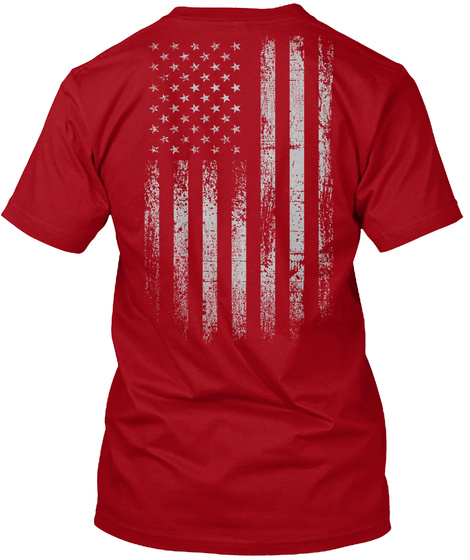 Red Friday: Remember Everyone Deployed Deep Red Maglietta Back