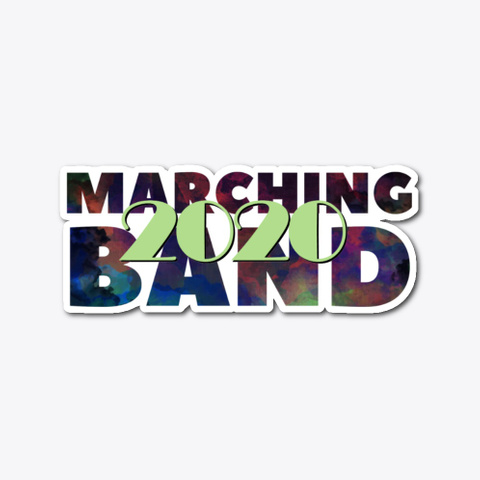 [Class Of 2020] Marching Band Standard T-Shirt Front