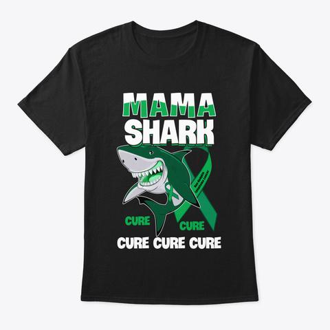 Cancer Non Hodgkin Lymphoma Cancer Aware Black T-Shirt Front