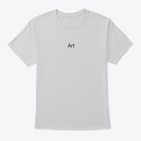 Art Light Steel T-Shirt Front