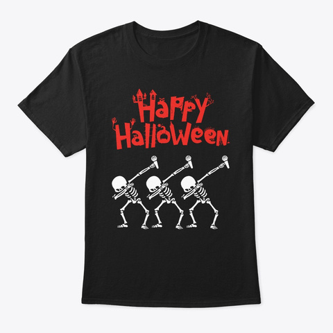 Bad Influencer Flamingo Witch Witchcraft Black T-Shirt Front