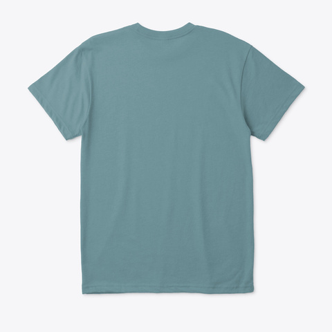 W H O  A M  I ? Heather Pacific T-Shirt Back