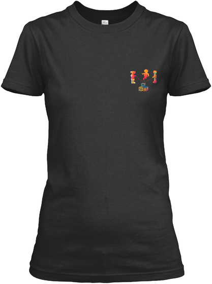Proud Childcare Provider Shirt Black T-Shirt Front