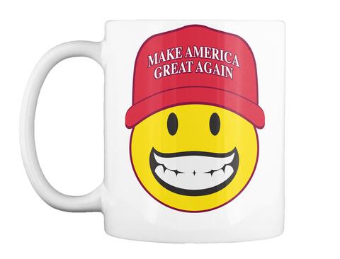 Smiley  Maga Mug White Mug Front