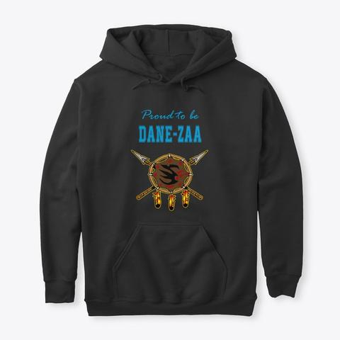 Dane Zaa Warrior Shield  Black T-Shirt Front