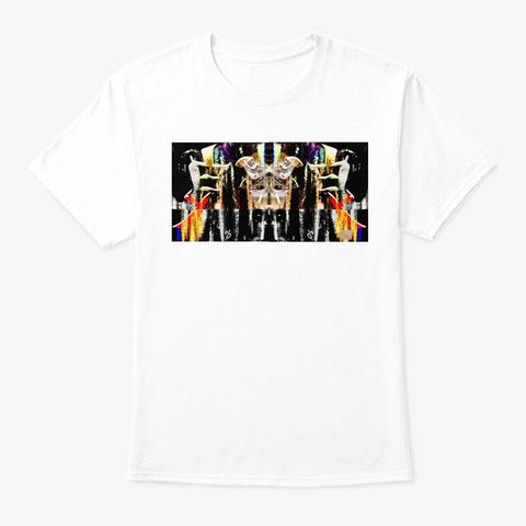 Kato White T-Shirt Front