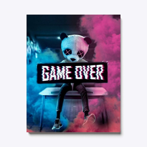 Game Over Standard T-Shirt Front