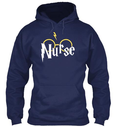 Nurse Navy T-Shirt Front