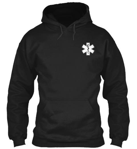 Paramedic Tees Black Camiseta Front