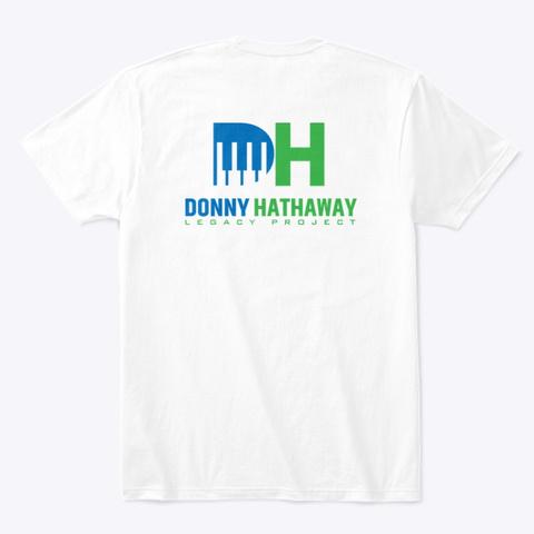 Dhlp Merch White T-Shirt Back
