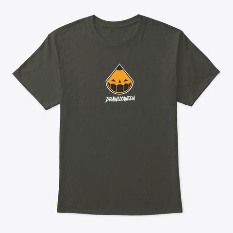 Drawlloween Tee Smoke Gray T-Shirt Front
