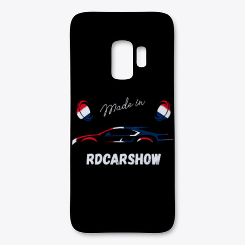 Made In Rdcarshow! Black áo T-Shirt Front