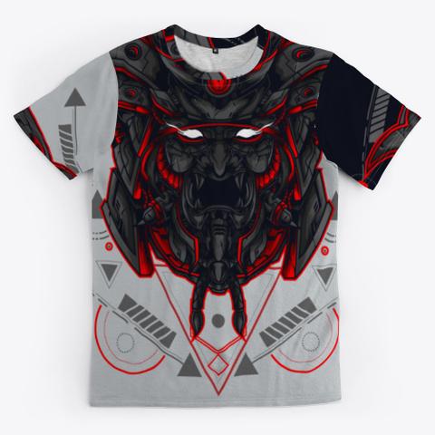 Kabuki Warrior Light Grey T-Shirt Front