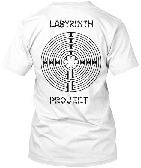 Labyrinth Project White Camiseta Back