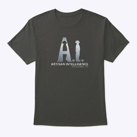 Ai: Artisan Intelligence Smoke Gray T-Shirt Front