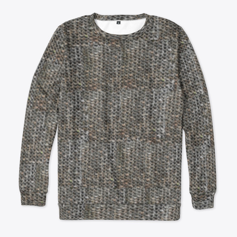 Chain Mail   Plain Standard T-Shirt Front