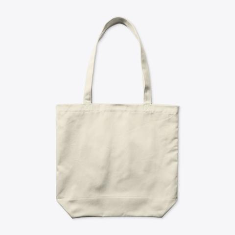 Back of Organic Tote Bag