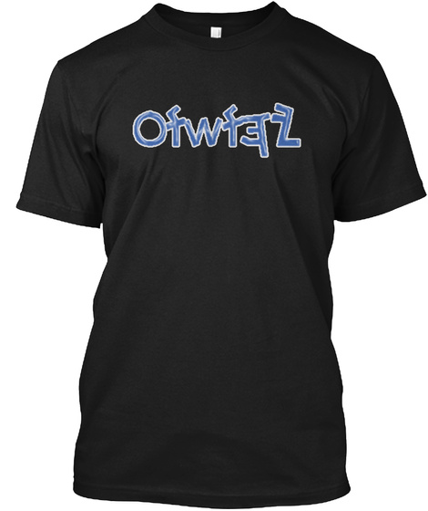 The Messiah's Name In Paleo Hebrew Black T-Shirt Front
