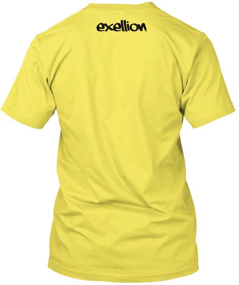 Exellion Yellow T-Shirt Back