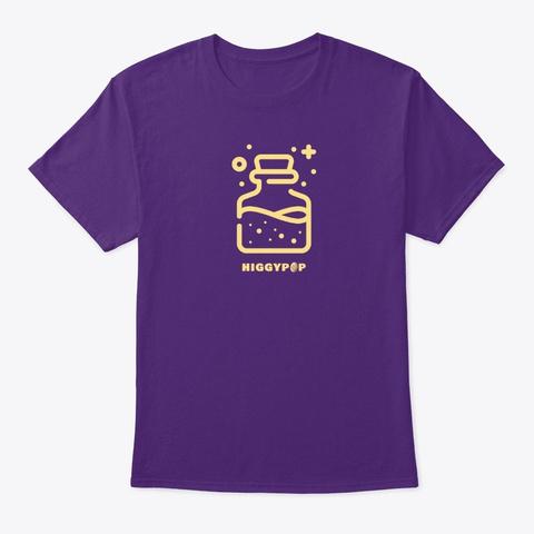 Higgypop Magic Potion Purple T-Shirt Front