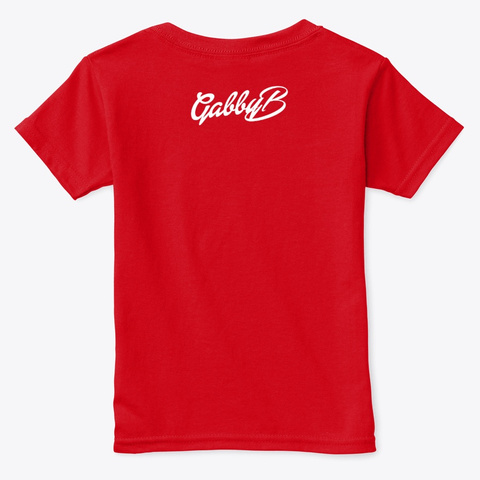"""Ya Ready?"" Red  T-Shirt Back"